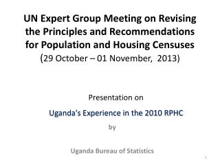 by Uganda Bureau of Statistics