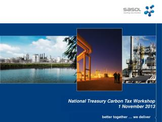 National  Treasury Carbon Tax  Workshop  1 November 2013