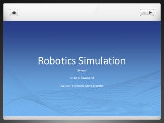 Robotics Simulation