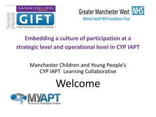 Embedding a culture of participation at a strategic level and operational level in CYP IAPT