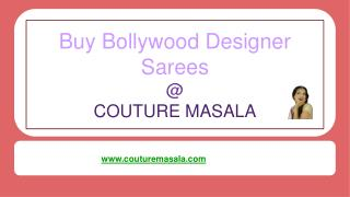 Buy Online Bollywood Designer Sarees At Amazing Prices