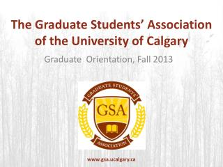 The Graduate Students' Association of the University of Calgary