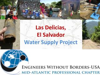 Las  Delicias ,  El Salvador Water Supply Project