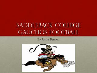Saddleback College Gauchos Football
