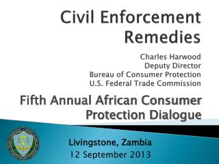 Fifth Annual African Consumer Protection Dialogue