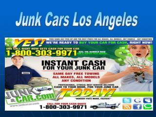 Junk Cars Los Angeles