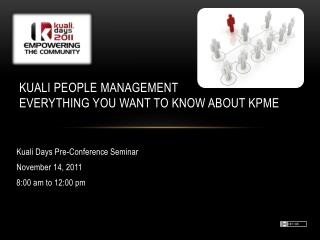 Kuali People Management  Everything you Want to Know About KPME