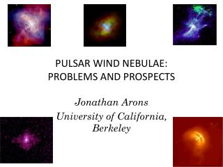 PULSAR WIND NEBULAE: PROBLEMS AND PROSPECTS