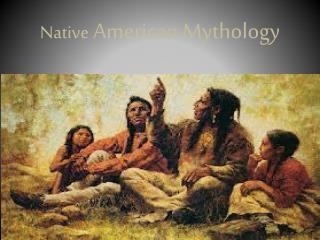 native american oral literature