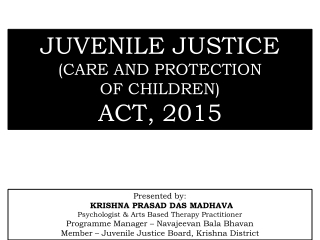 Chapter 9. Juvenile Justice