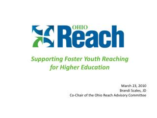 Supporting Foster Youth Reaching for Higher  Education