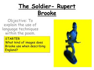 The Soldier- Rupert Brooke