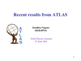 Recent results from ATLAS