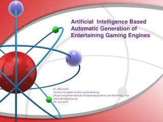 Artificial  Intelligence Based Automatic Generation of Entertaining Gaming Engines