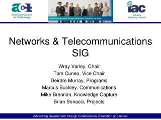 Networks & Telecommunications SIG