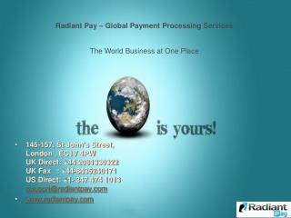 The World Business at One Place