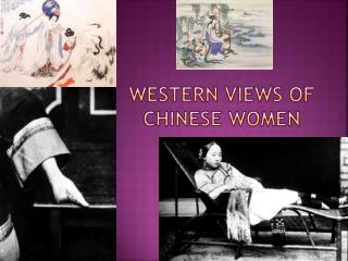 Western Views of Chinese women