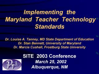 Maryland Technology Grant