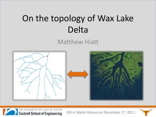 On the topology of Wax Lake Delta