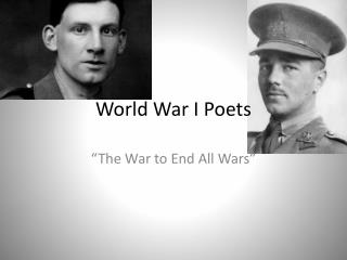 World War I Poets