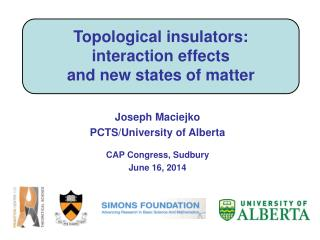 Topological insulators: interaction effects and new states of matter