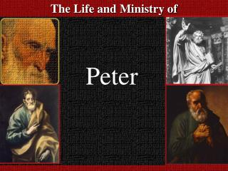 The Life and Ministry of
