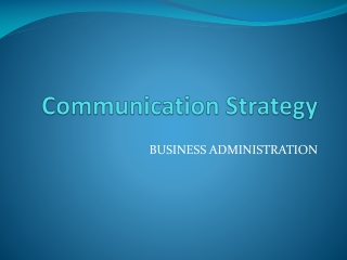 Understanding Business Communication
