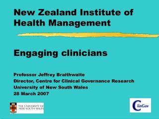 New Zealand Institute of Health Management