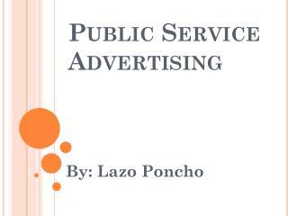 Public Service Advertising