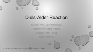 Diels-Alder Reaction