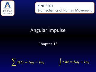 Angular Impulse