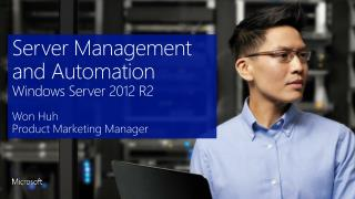 Server Management and Automation Windows Server 2012 R2