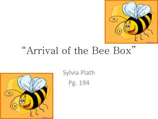 """Arrival of the Bee Box"""