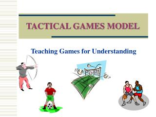 TACTICAL GAMES MODEL