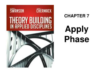 CHAPTER 7 Apply Phase