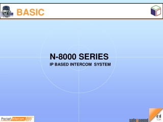 N-8000 IP Network Intercom Systems