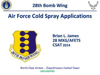 Air Force Cold Spray Applications