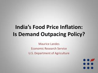 India's Food Price Inflation: Is Demand Outpacing Policy?