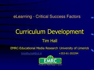 eLearning - Critical Success Factors