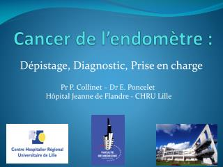 Cancer de l'endomètre :