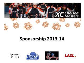 Sponsorship 2013-14