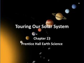 Touring Our Solar System