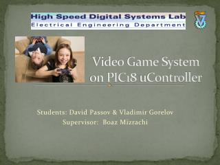 Video Game System on PIC18  uController