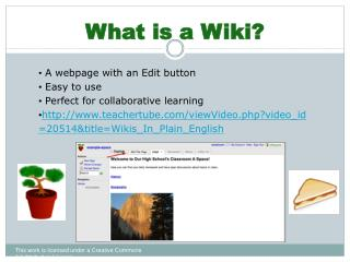 What is a Wiki?