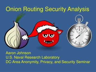Onion Routing Security Analysis