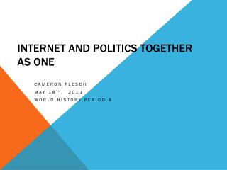 Internet and Politics Together as One