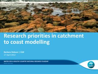 Research priorities in catchment to coast modelling