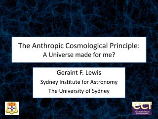 The  Anthropic  Cosmological Principle:  A Universe made for me?