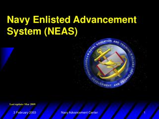 Navy Enlisted Advancement System (NEAS)