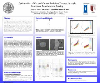 Optimization of Cervical Cancer Radiation Therapy  through Functional  Bone Marrow Sparing